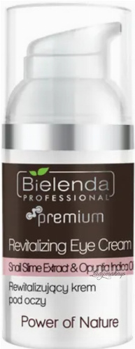 Bielenda Professional - Power of Nature - Revitalizing Eye Cream - Revitalizing eye cream - 30 ml