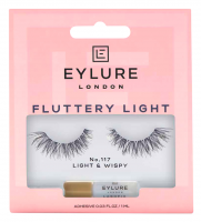 EYLURE - FLUTTERY LIGHT - Eyelashes with glue - filling effect - NO.117