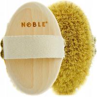 NOBLE - Naturalna szczotka do masażu ciała na sucho - Tampico - SCZ02