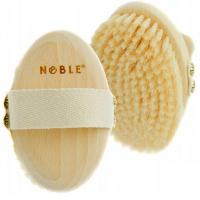 NOBLE - Naturalna szczotka do masażu ciała na sucho - Szczecina - SCZ01