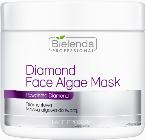Bielenda Professional - Diamond Face Algae Mask - Diamentowa maska algowa do twarzy - 190 g