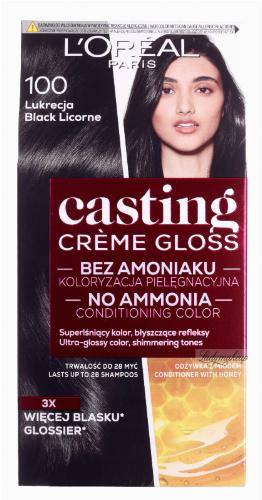 L'Oréal - Casting Créme Gloss - Pielęgnacyjna koloryzacja bez amoniaku - 100 Lukrecja