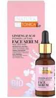 NATURA ESTONICA BIO - Ginseng & Acai Power Lifting Face Serum - Intensywnie liftingujące serum przeciwzmarszczkowe - Żeń-Szeń & Acai - 30 ml