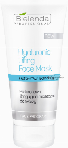 Bielenda Professional - Hyaluronic Lifting Face Mask - Hyaluronic lifting face mask - 175 ml