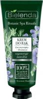 Bielenda - Botanic Spa Rituals - Hand Cream - Natural, regenerating and moisturizing hand cream - Linen + Rosemary - 50 ml