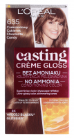 L'Oréal - Casting Créme Gloss - Nursing coloring without ammonia - 635 Chocolate Candy