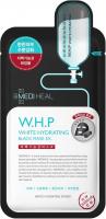 MEDIHEAL - W.H.P WHITE HYDRATING BLACK MASK EX. - Nawilżająca maska w płachcie z węglem drzewnym - 25 ml