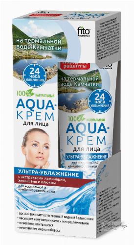 Fito Cosmetic - Aqua krem do twarzy - Ultra nawilżenie do cery normalnej i mieszanej - 45 ml