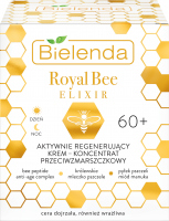 Bielenda - Royal Bee Elixir - Actively regenerating anti-wrinkle cream-concentrate - 60+ Day / Night - 50 ml