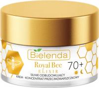 Bielenda - Royal Bee Elixir - Silnie odbudowujący krem-koncentrat przeciwzmarszczkowy - 70+ Dzień/Noc - 50 ml