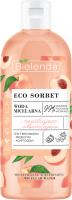 Bielenda - ECO SORBET - Moisturizing & Refreshing Micellar Water - Moisturizing and refreshing micellar water - Peach - 500 ml