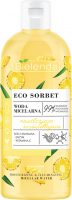 Bielenda - ECO SORBET - Moisturizing & illuminating Micellar Water - Moisturizing and illuminating micellar water - Pineapple - 500 ml