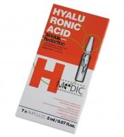 Pierre René - Hyaluronic Acid Wrinkle Reduction Treatment - 7-o dniowa redukująca zmarszczki kuracja w ampułkach