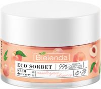 Bielenda - ECO SORBET - Moisturizing & Nourishing Face Cream - Nawilżająco-odżywczy krem do twarzy - Brzoskwinia - 50 ml