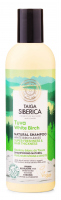 NATURA SIBERICA - Taiga Tuva White Birch Natural Shampoo - Naturalny szampon do włosów z białą brzozą - Odświeżenie & Pogrubienie - 270 ml