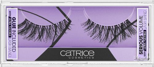 Catrice - Lash Couture SERIOUS VOLUME Lashes Bnad - Sztuczne rzęsy na pasku + klej