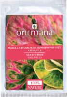 ORIENTANA - Maska z naturalnego jedwabiu pod oczy - Kaskaryla - 1 para