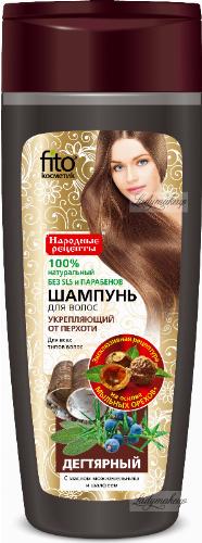 Fito Cosmetic - Dziegciowy szampon przeciwłupieżowy - 270 ml