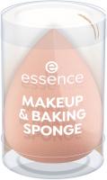 Essence - Makeup & Baking Sponge - Gąbka do aplikacji kosmetyków i bake'ingu - Brzoskwiniowa