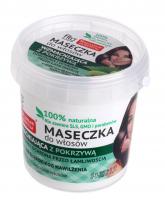 Fito Cosmetic - 100% naturalna maseczka wzmacniająca do włosów - Pokrzywa - 155 ml