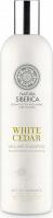 NATURA SIBERICA - White Cedar Volume Shampoo - Szampon do włosów zwiększający objętość - Biały Cedr - 400 ml
