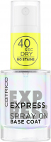 Catrice - Express Spray On Base Coat - Ekspresowa baza pod lakier do paznokci - 10 ml