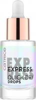 Catrice - Express Quick Dry Drops - Ekspresowe krople przyspieszające wysychanie lakieru - 8 ml