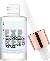 Catrice - Express Quick Dry Drops - Express drops accelerating the drying of the varnish - 8 ml