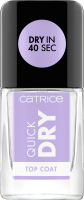 Catrice - Quick Dry Top Coat - Quick-drying topcoat - 10.5 ml