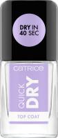 Catrice - Quick Dry Top Coat - Szybkoschnący lakier nawierzchniowy - 10,5 ml