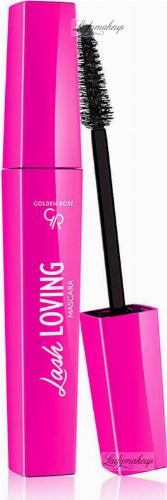 Golden Rose - Lash Loving Mascara - Wydłużajaco-pogrubiający tusz do rzęs - 12 ml