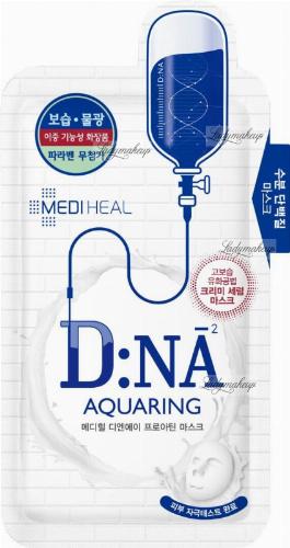 MEDIHEAL - D: NA AQUARING PROATIN MASK - Moisturizing sheet mask for dry, dehydrated and sensitive skin - 25 ml