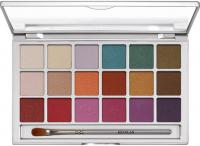 KRYOLAN - VARIETY - EYE SHADOW COMPACT - Paleta 18 cieni pracowanych do powiek - ART. 5318