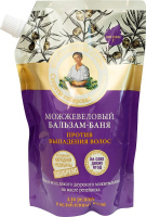 Agafia - Recipes of Babushka Agafia - Juniper anti-hair loss conditioner - Refill - 500 ml