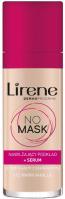 Lirene - NO MASK - Nawilżający podkład do twarzy + serum - 30 ml