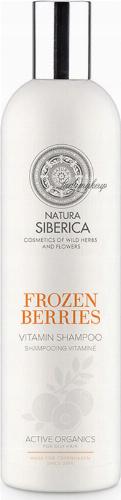 NATURA SIBERICA - Frozen Berries Vitamin Shampoo - Witaminowy szampon do włosów przetłuszczających się - Mrożona Jagoda 400 ml