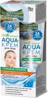 Fito Cosmetic - AQUA Krem - Odżywczy krem do twarzy - Cera normalna i mieszana - 45 ml