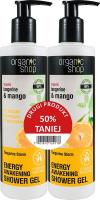 ORGANIC SHOP - Zestaw 2x Żel pod prysznic Energy Awakening Shower Gel - 2 x 280 ml