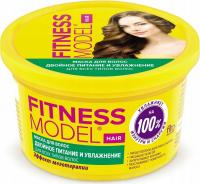Fito Cosmetic - FITNESS MODEL - DOUBLE NOURISHMENT AND HYDRATION HAIR MASK - Odżywczo-nawilżająca maska do włosów - 250 ml