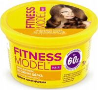 Fito Cosmetic - FITNESS MODEL - 30 SILK GLOSS HAIR MASK - Mask for colored hair with a lamination effect - 250 ml