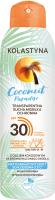 KOLASTYNA - Coconut Paradise - Transparentna sucha mgiełka ochronna do opalania - Efekt chłodzenia - SPF30 - 150 ml