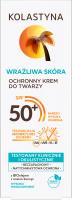 KOLASTYNA - Wrażliwa Skóra - Ochronny krem do twarzy - WODOODPORNY - SPF50+ - 50 ml
