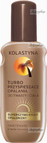 KOLASTIN - Turbo tanning accelerator for the face and body - 150 ml