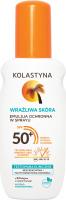 KOLASTYNA - Emulsja do opalania w sprayu - WODOODPORNA - SPF50+ - 150 ml