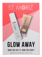 ST. MORIZ - GLOW AWAY - Now You See It, Now You Don't - Set - Medium self-tanner 200 ml + Tan removal scrub 200 ml