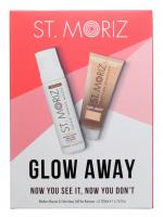 ST. MORIZ - GLOW AWAY - Now You See It, Now You Don't - Set - Medium self-tanner 200 ml + Tan removal scrub 200 ml