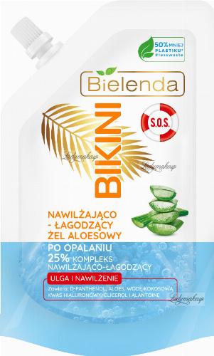 Bielenda - BIKINI S.O.S. - Moisturizing and soothing aloe vera gel after sunbathing - 45 g