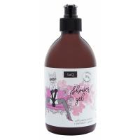 LaQ - Kocica - Zestaw prezentowy dla kobiet - Peeling do ciała 200 ml + Żel pod prysznic 500 ml