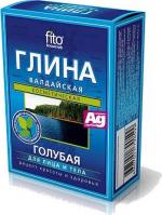 Fito Cosmetic - Niebieska glinka wałdajska do twarzy i ciała - 100 g