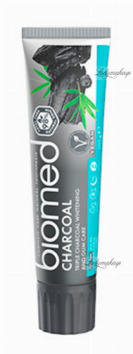 BIOMED - CHARCOAL - Complete Care Natural Toothpaste - Whitening toothpaste - 100 g